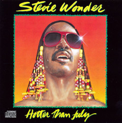 Stevie Wonder ‎– албум Hotter Than July (CD)