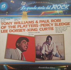 Tony Williams & Paul Robi Of The Platters · Percy Sledge / Lee Dorsey / King Curtis – албум Tony Williams & Paul Robi Of The Platters / Percy Sledge / Lee Dorsey / King Curtis