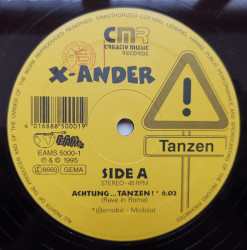 X-Ander – албум Tanzen