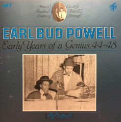 Earl Bud Powell ‎– албум Early Years Of A Genius, 44-48 (CD)