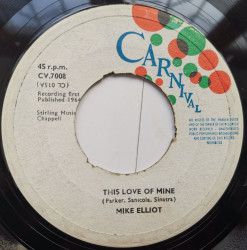 Mike Elliot – сингъл This Love Of Mine