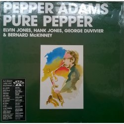 Pepper Adams ‎– албум Pure Pepper
