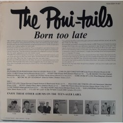 The Poni-tails – албум Born Too Late