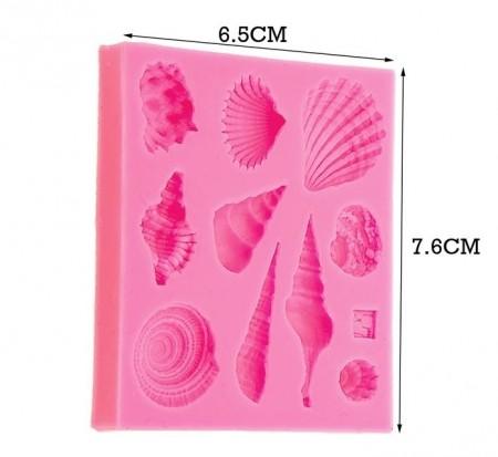 Sea Shells silicone mold