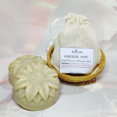 Hibiscus Mint Solid Shampoo Bar