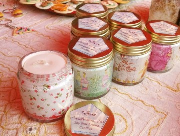 Soy Wax Aroma Candles (Assorted) images