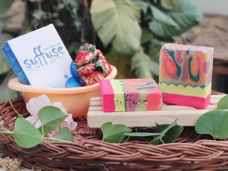 Groovy Neons - Double Butter soap