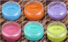 6 Pastel shades Micas Set combo images