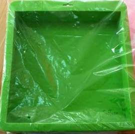 Pink / Green Silicone slab mold 3KG images