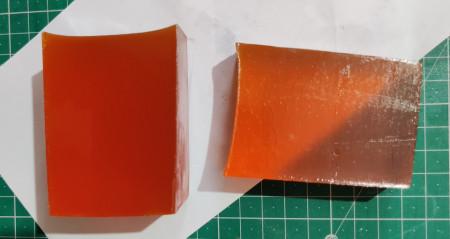 Turmeric Re-meltable soap base
