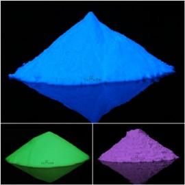 3 Glow in the Dark pigments combo