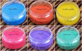 6 Bright shades Micas Set combo images