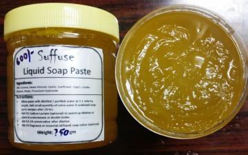 Liquid soap paste