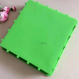 Pink / Green Silicone slab mold 3KG