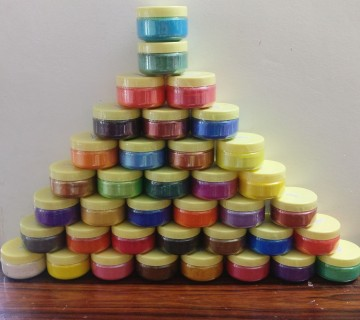 43 Colour Micas Set