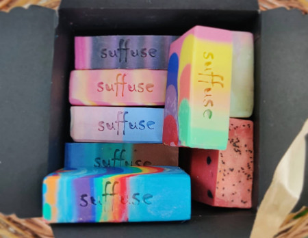 Assorted Soaps gift box - 8 soaps