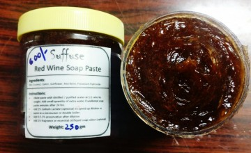 Red Wine soap paste