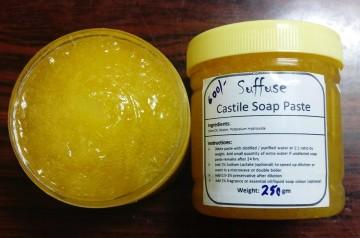 Castile soap paste