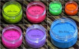 8 Neon pigments combo