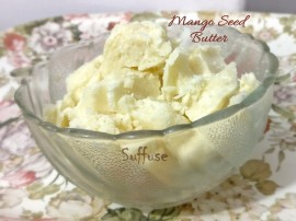 Pure unrefined Mango Seed Butter