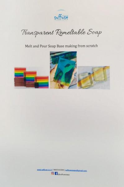 Transparent Soap Base Recipe Booklet