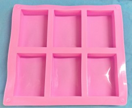 100gm Rectangle cavity mold images