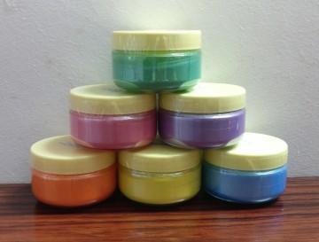 6 Pastel shades Micas Set combo