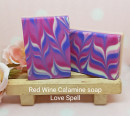 Red Wine and Calamine soap - Love Spell Fragrance