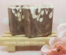 Cafe latte Cow's milk cream soap
