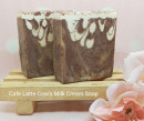 Cafe latte Cow's milk cream soap