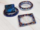 Resin Soap Dish - Dark Blue