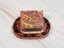 Resin Soap Dish - Wine Red