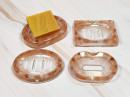 Resin Soap Dish - Rose Gold