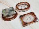 Resin Soap Dish - Bronze
