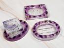 Resin Soap Dish - Lavender