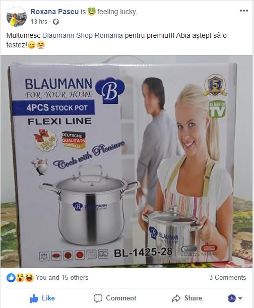 Castigatori Concurs Blaumann
