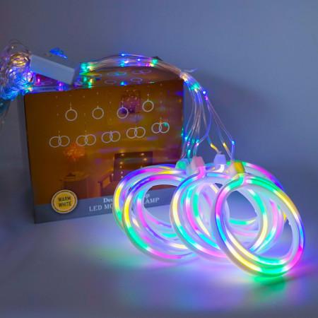 Instalatie in forma de Globulete , BL-381-M, Lumina Multicolor