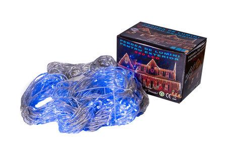 Perdea Lumini de exterior, 920 Led- Lumina Rece 3m x 3m, joc de lumini, interconectabila