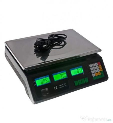 Cantar Electronic profesional Digital,Capacitate maxima 40Kg,Afisaj Dublu
