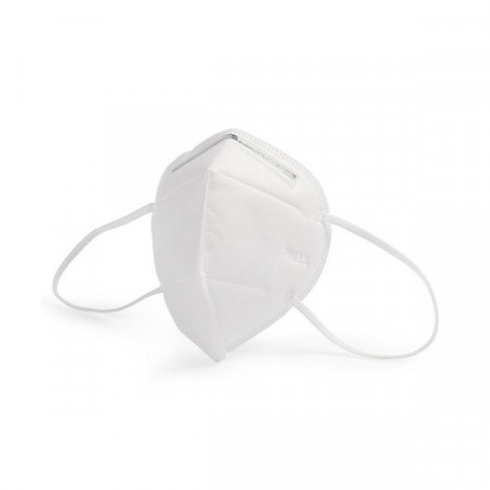 Set 5 buc Masca protectie faciala KN95, 4 straturi, standard GB2626-2006 superior cu1% fata de FFP2, forma 3D