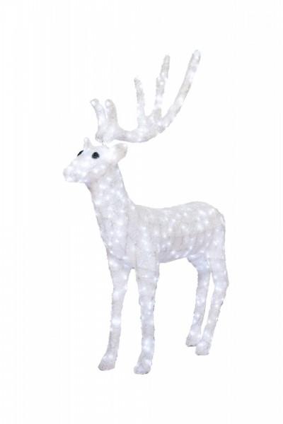 Decoratiune luminoasa pentru exterior Ren, h 137cm
