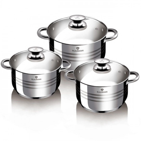 Set oale din Inox 6 piese BL-1424-6 BLAUMANN FOR YOUR HOME