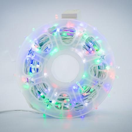 Instalatie de Craciun tip Liniara / sirag 50m, 480 leduri, Lumina Multicolor, SW-361-M