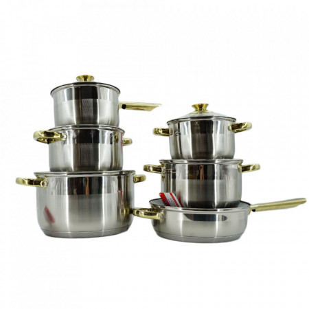 Set Oale din Inox 12 piese BL1246TF Blaumann For Your Home