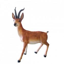 Decoratiune de exterior Antilopa din fibra de sticla, 1200 Led, dimensiune: 125*90*40cm, M-005