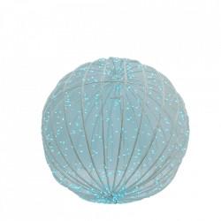Decoratiune luminoasa pentru exterior 3D Glob, 80 LED RGB multicolor cu telecomanda BL-116