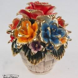 Cos cu flori din Portelan VS5102