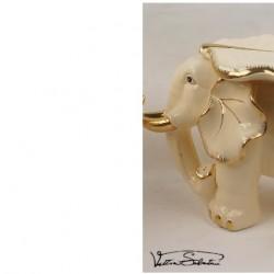 Elefant din Portelan VS5112 VITTORIO SABATINI