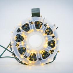 Instalatie de Craciun tip Liniara / sirag 50m, 480 leduri, Lumina Calda, BL-361-WW