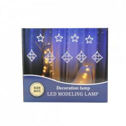 Instalatie in forma de Romburi cu Stele , BL-378-CLD, Lumina calda